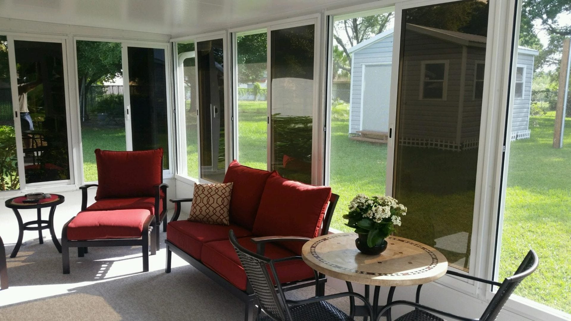 Sunrooms projects at affordable prices